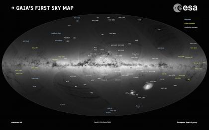 La mappa in 3D della Via Lattea