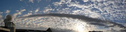 Esistono nuove nuvole in cielo, anche quelle create dall'uomo