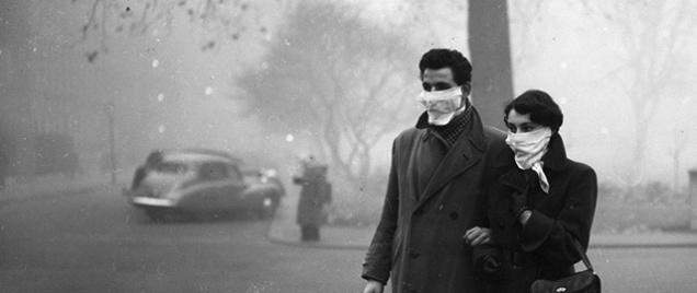 Neanche la pancia della mamma li ha protetti dal Grande Smog di Londra (1952)
