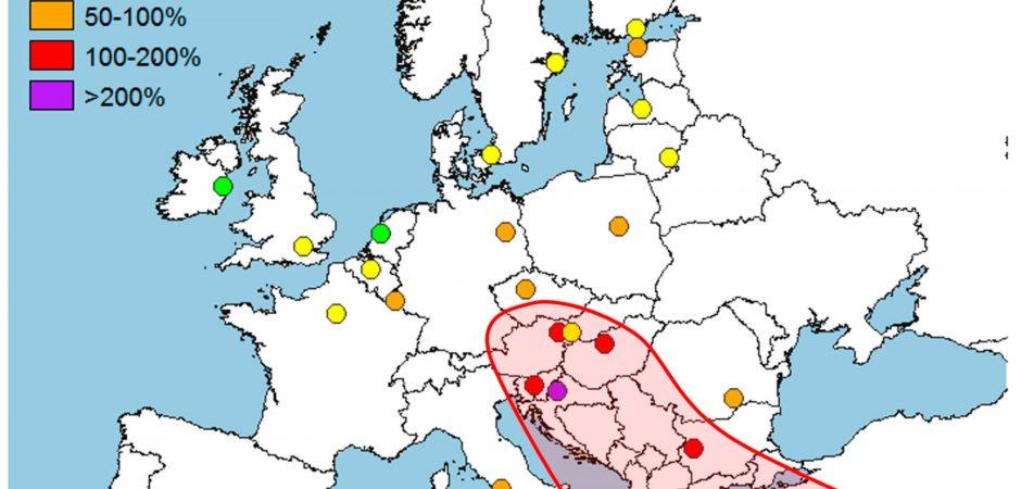 Ondate di calore: Roma tra le capitali europee piu' colpite
