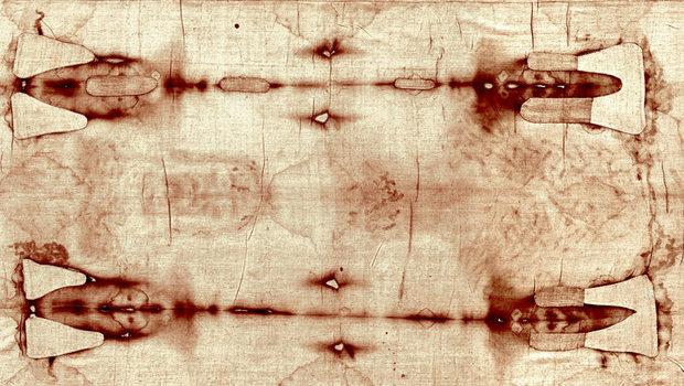 Le macchie di sangue sulla Sacra Sindone sono false, simili a pennellate